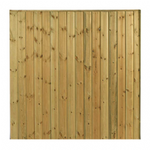 Ship Lap Deluxe Fencing Panel